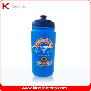 Plastic Sports Water Bottle, Plastic Sports Bottle, 600ml Plastic Drink Bottle (KL-6612) pictures & photos