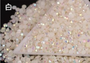 Decorate Clothing Flatback Hotfix Bulk Packing Rhinestone Resin Material pictures & photos
