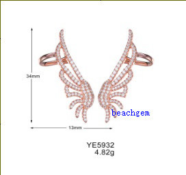 New Fashion Gold Plating Silver Jewelry Earring (YE5932) pictures & photos