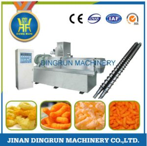 puffed snacks food making extruder