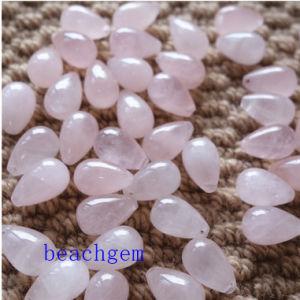 Natural Rose Quartz Loose Drop Gemstone pictures & photos
