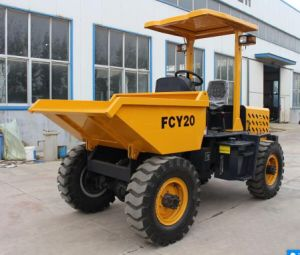 2.0t 4 Wd Site Dumper Fcy20 with 3 Cylinders Diesel Engine pictures & photos
