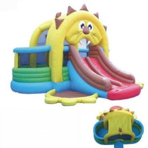 Inflatable Lion′s Den Bouncer