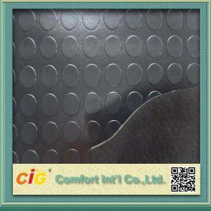 Coin / Round Button Rubber Flooring Vinyl PVC pictures & photos