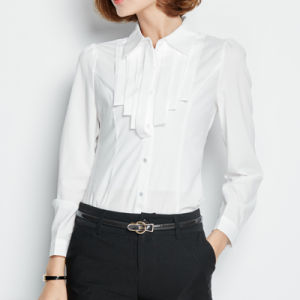 Designer Lady′s Business Slim Fit Formal Office Dress Shirt pictures & photos