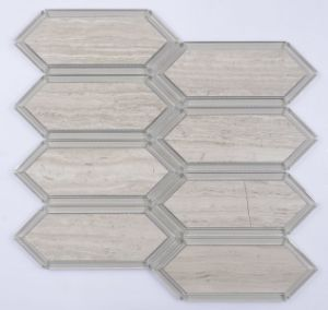 Big Hexagon Marble Tile pictures & photos