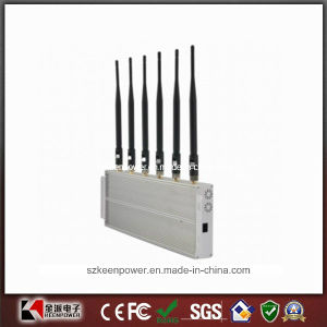 2014 New 6 Bands 4G Jammer 3G Jammer 2g Phone Jammer pictures & photos