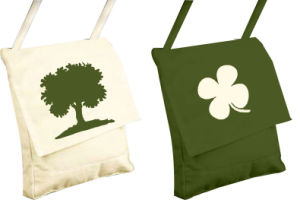 Travel Cotton Handbags with Customised Logo pictures & photos