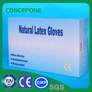 Latex Non Sterile Examination Gloves Powdered pictures & photos