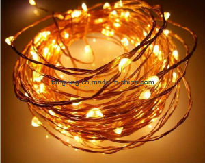 5 M Length 50 LED Copper Wire LED String Lights