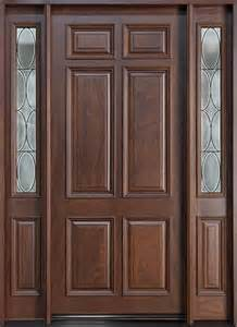 Timber Wooden Door with Delicated Workmanship pictures & photos