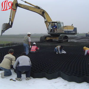 Black Color Geocell for Road Construction pictures & photos
