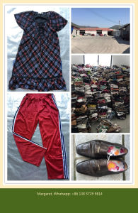 Used Clothes / Second Hand Clothing / Used Clothing / Fashiong & Shinning Baled Clothes (FCD-002) pictures & photos
