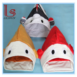 Pet Product Ring Paper Fish Shape Pet Bed / Cat House Toy pictures & photos