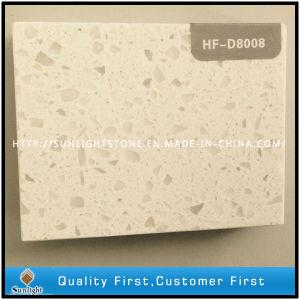 Polished Sparkle Artificial White Quartz Stone Slab pictures & photos