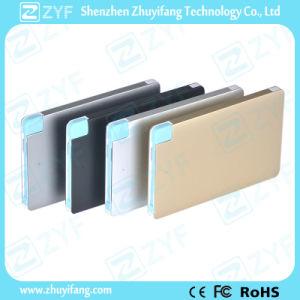 Custom Logo Aluminum Case Card 2500mAh Power Bank (ZYF8004) pictures & photos
