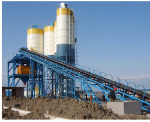 Hzs120 Belt Converyor Concrete Mixing Batching Plant pictures & photos