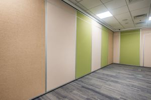 Acoustic Operable Partition Wall pictures & photos