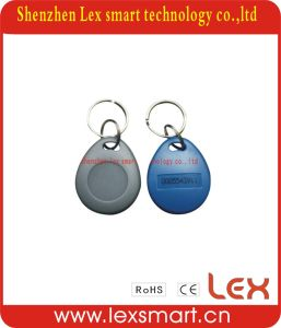 Personalized 125kHz Plastic Key Chain Rings Tag Cards