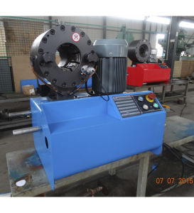 Powered Hose Swaging Machine for Europe Market pictures & photos