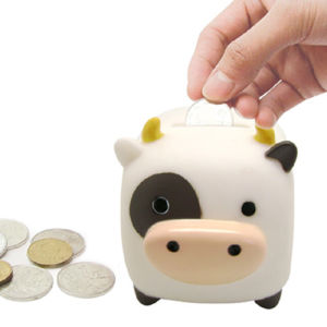 New Design OEM Kids Plastic Piggy Bank pictures & photos