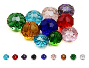 Cheap Colorful Round Crystal Glass Beads for DIY pictures & photos