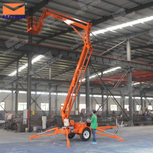 14m Hot Sale Trailer Mounted Bucket Lift pictures & photos