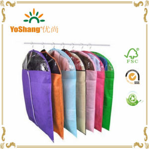 Dress Clothes Garment Suit Cover Zipper Bags Dustproof Storage Protector, Random Colors 60*90cm pictures & photos