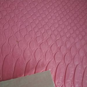 SGS Certification Classic Python Skin Lines Luggage Bags Leather PVC Leather pictures & photos