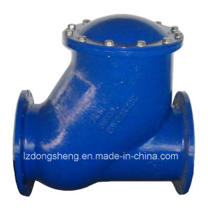 Flange End Ball Check Valve Pn16 pictures & photos