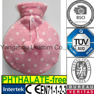 CE Round Shaped Hot Water Bottle Cover