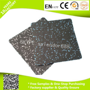 Shock Absorbing Recycle Rubber Mats Crossfit Gym Rubber Flooring pictures & photos