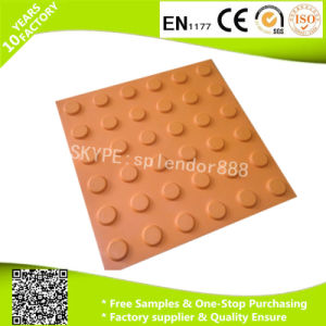 Colorful Interlocking Outdoor Safety Rubber Flooring for Blind Walkway pictures & photos
