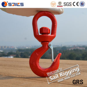 Alloy Steel Crane Swivel Hook with Safety Latch pictures & photos