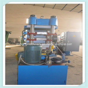 Made in China 4-Pillar Rubber Sole Hydraulic Vulcanizing Press pictures & photos