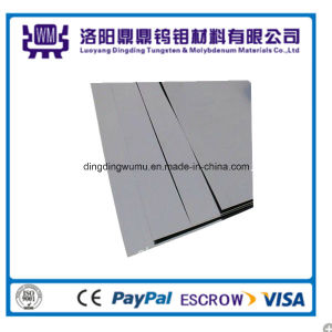 Mo-1 Material Made Polished Molybdenum Sheet for Lighting and Vacuum pictures & photos