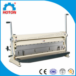 Metal Sheet Combination Shearing Bending Rolling Machine (3-IN-1/1016) pictures & photos