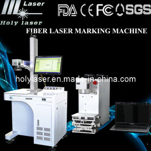10W 20W 30W Holylaser Fiber Laser Marking Machine, Applied for Metals and Some Nonmetals pictures & photos