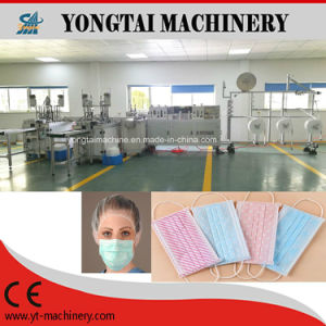 Fully Automatic Nonwoven Earloop Face Mask Making Machine pictures & photos