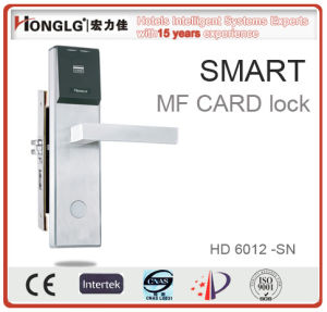 Electric Motor Smart Hotel Door Lock (HD6012) pictures & photos