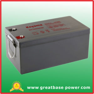 Gel Battery Storage Battery Hybrid Battery 250ah 12V pictures & photos