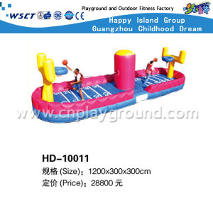 Inflatable Water Game Water Bouncy Game on Stock (HD-10005) pictures & photos