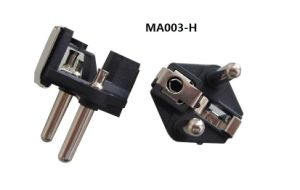 2 Pin Plug Insert with Hollow Pins (MA003-H) pictures & photos