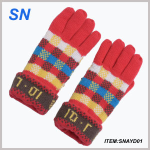 2015 Wholesale Fashion Knitted Funky Winter Glove pictures & photos