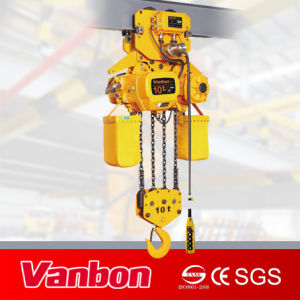 10 Ton Electric Trolley Type Electric Chain Hoist pictures & photos