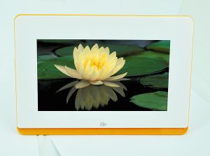 7′′ ABS Material 800*480 Resolution Digital Panel Frame pictures & photos