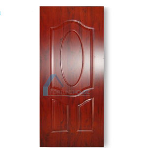 Laminated HDF Mlouded Door Skin/Melamine Door Skin pictures & photos