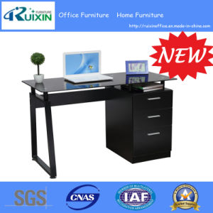 New Design Hot Sale Commerical Office Furniture Table with Side Cabinet pictures & photos