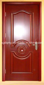 Moulded Melamine HDF Door with Frame for Interior pictures & photos