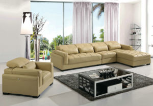 Modern Home Leather Sofas (B. 893) pictures & photos